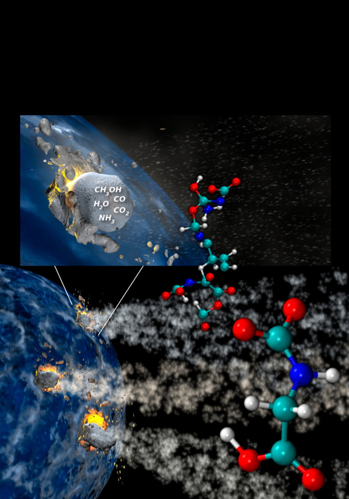 Comet Crashes Can Spawn the Ingredients of Life