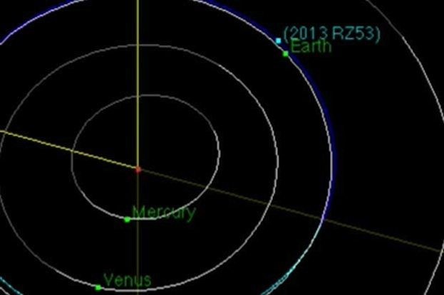 Tiny Asteroid Gives Earth a Close Shave