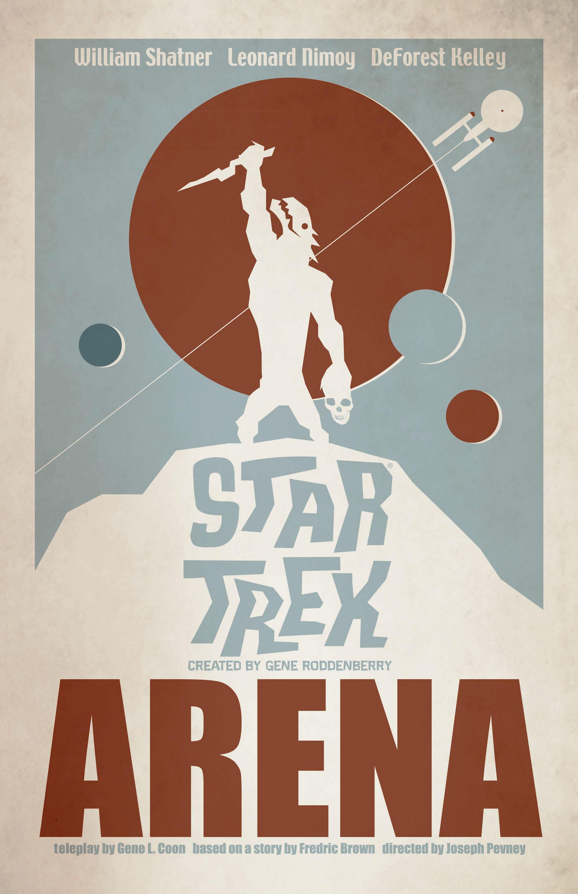 'Arena' from 'Star Trek: The Art of Juan Ortiz'
