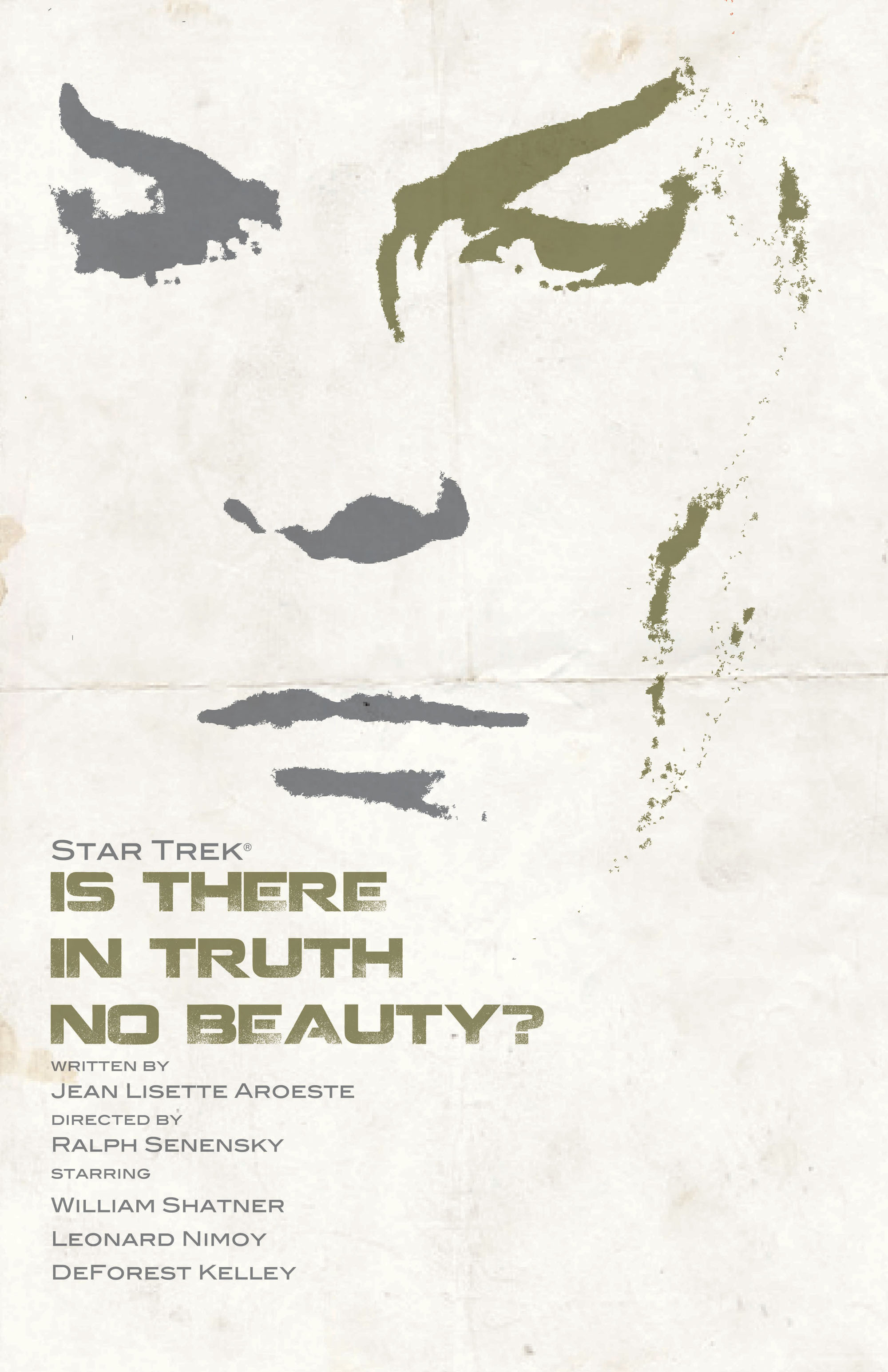 'Is There in Truth No Beauty?' from 'Star Trek: The Art of Juan Ortiz'