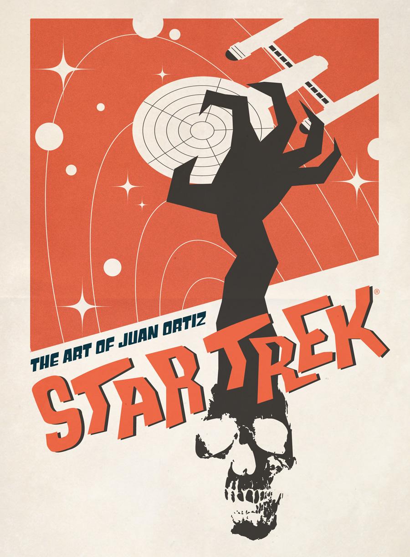 Cover Art of 'Star Trek: The Art of Juan Ortiz'