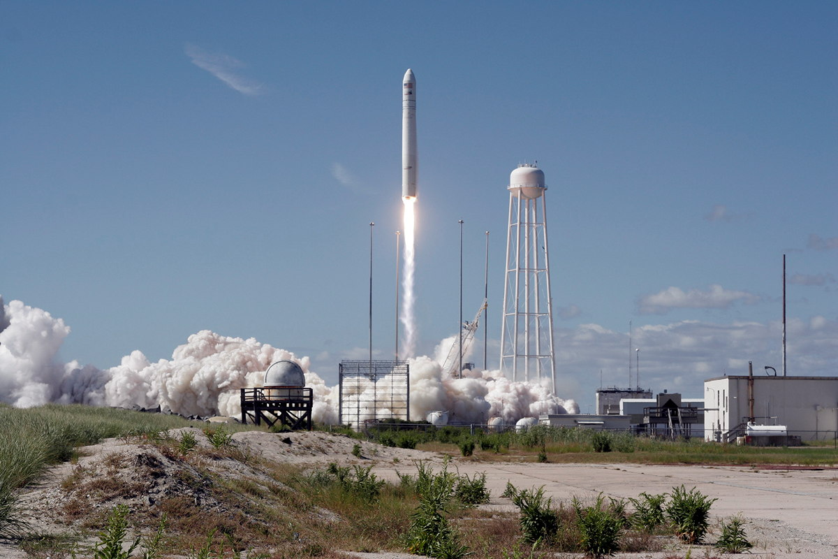 Orbital Sciences' Antares-Cygnus Launch