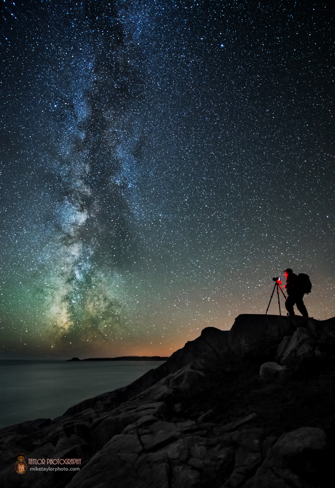 Milky Way Galaxy Meets Photographer In Dazzling Space Photo