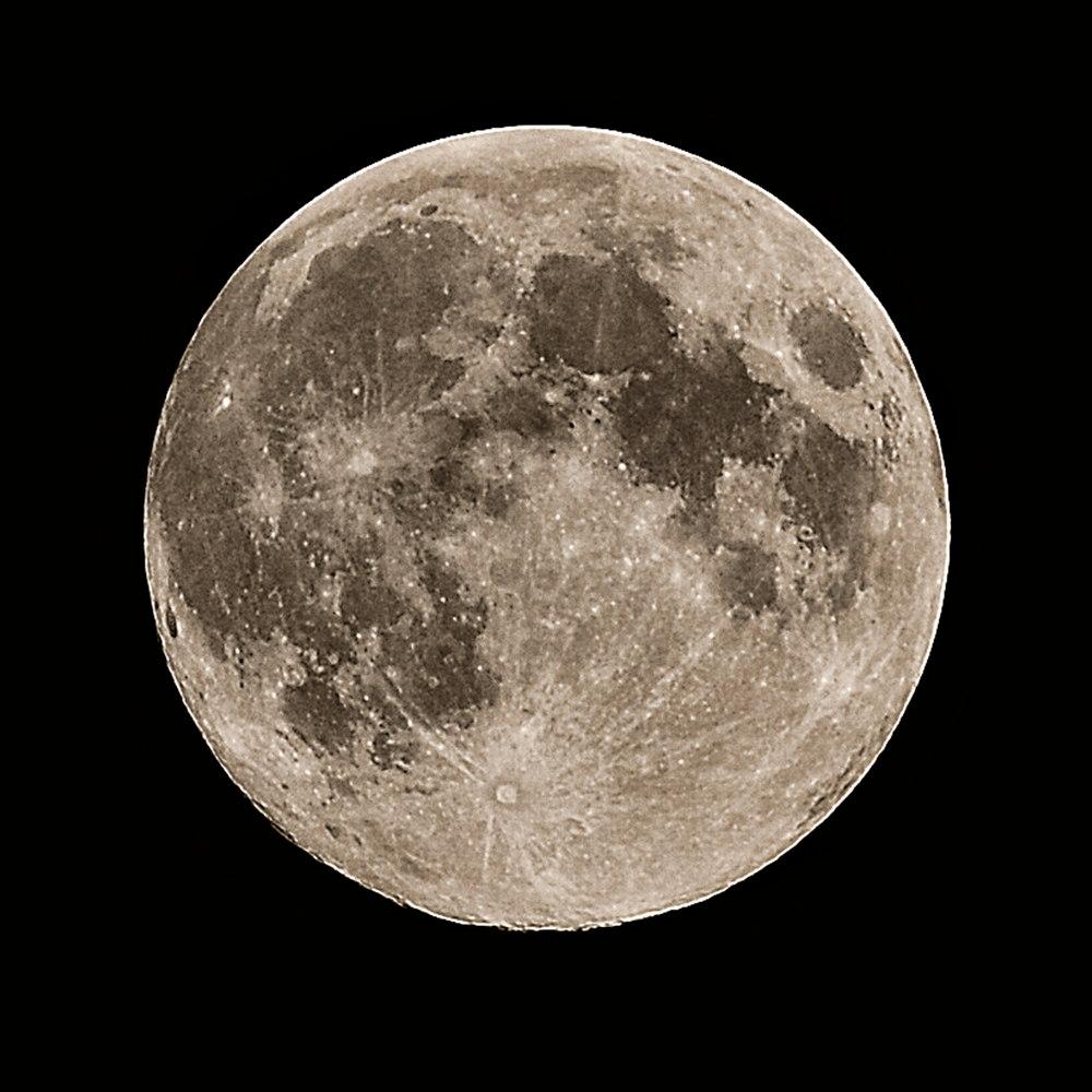 Harvest Moon Over Pensacola, FL