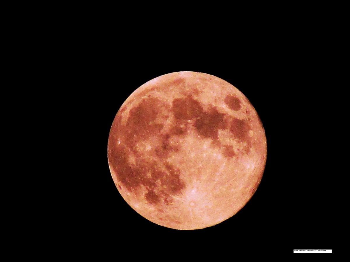 2013 Harvest Moon Over Turkey