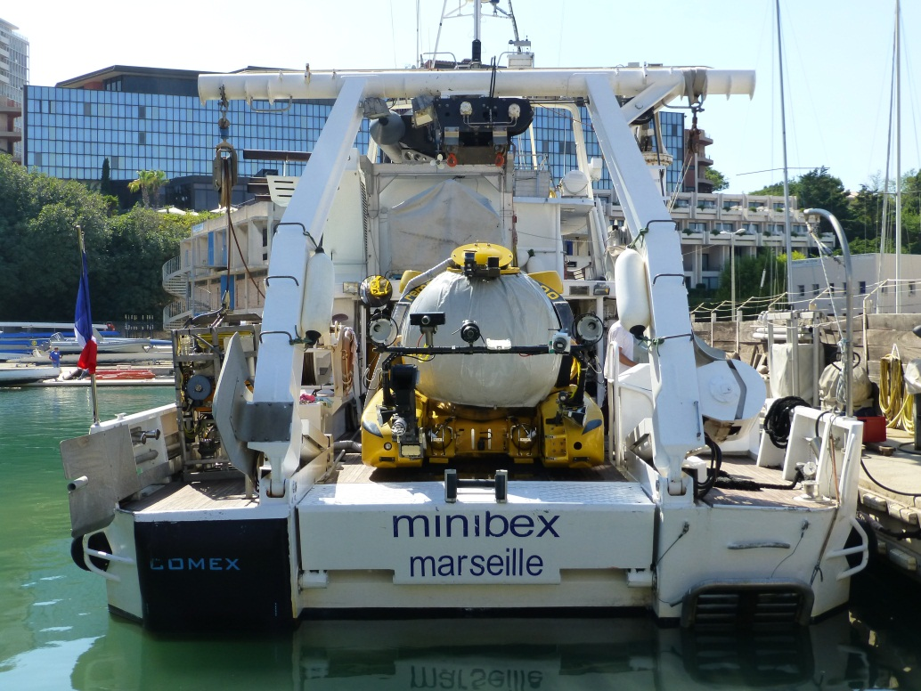 Comex Research Vessel Minibex