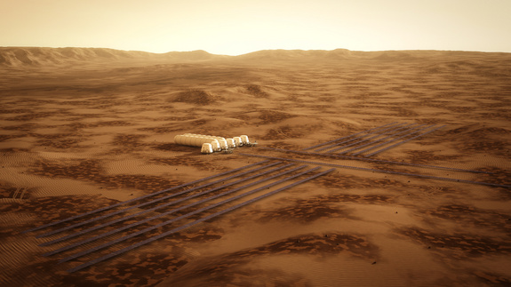 Mars One is a not-for-profit organization that will establish a human settlement on Mars through the integration of existing, readily available technologies from the private space industry.