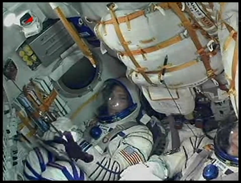 Mike Hopkins in Soyuz