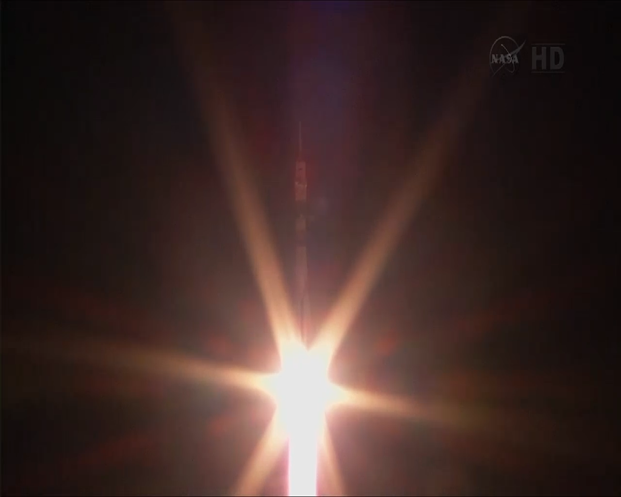 Soyuz Launch to Space Station