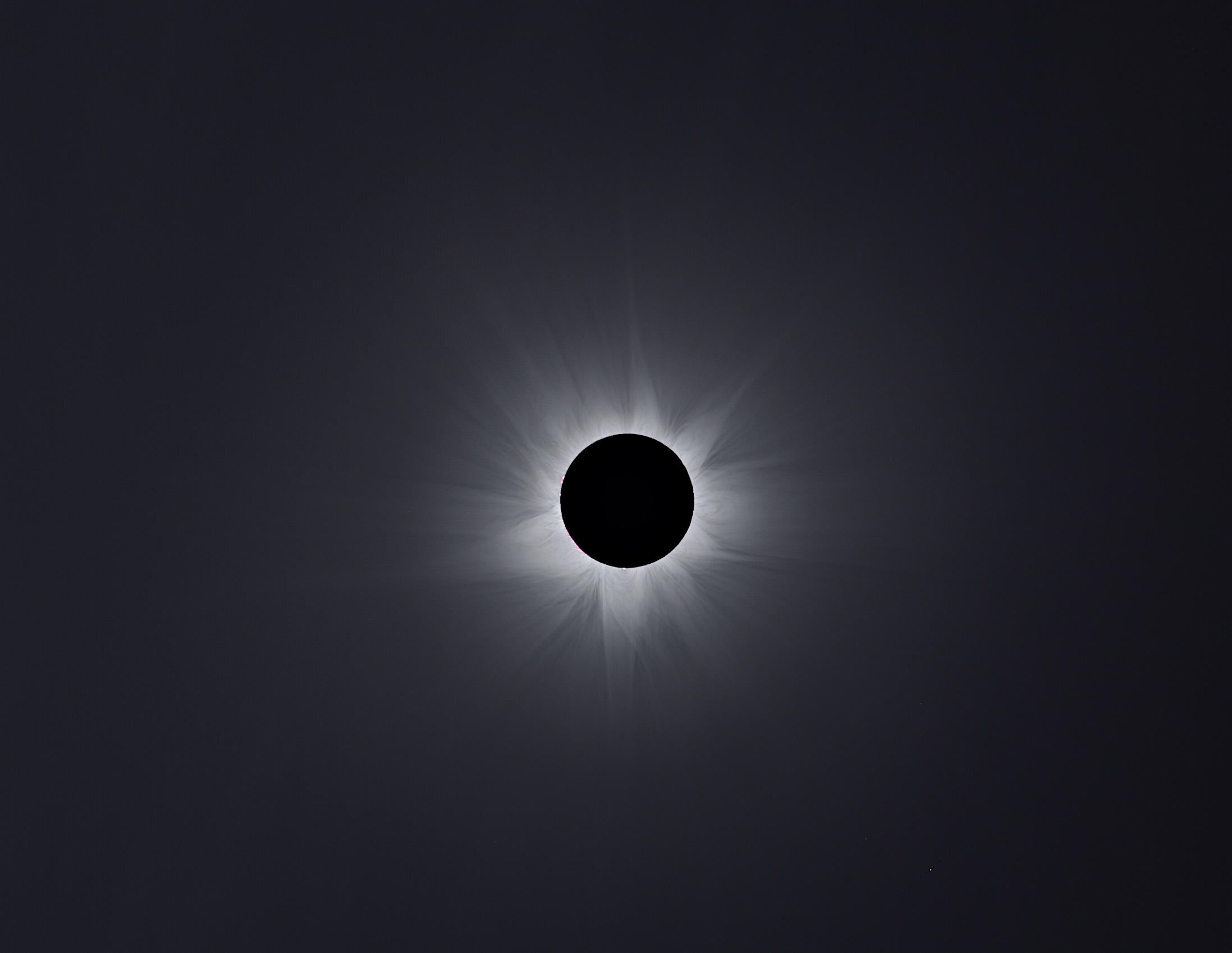 Our Solar System: Corona Composite of 2012: Australian Totality