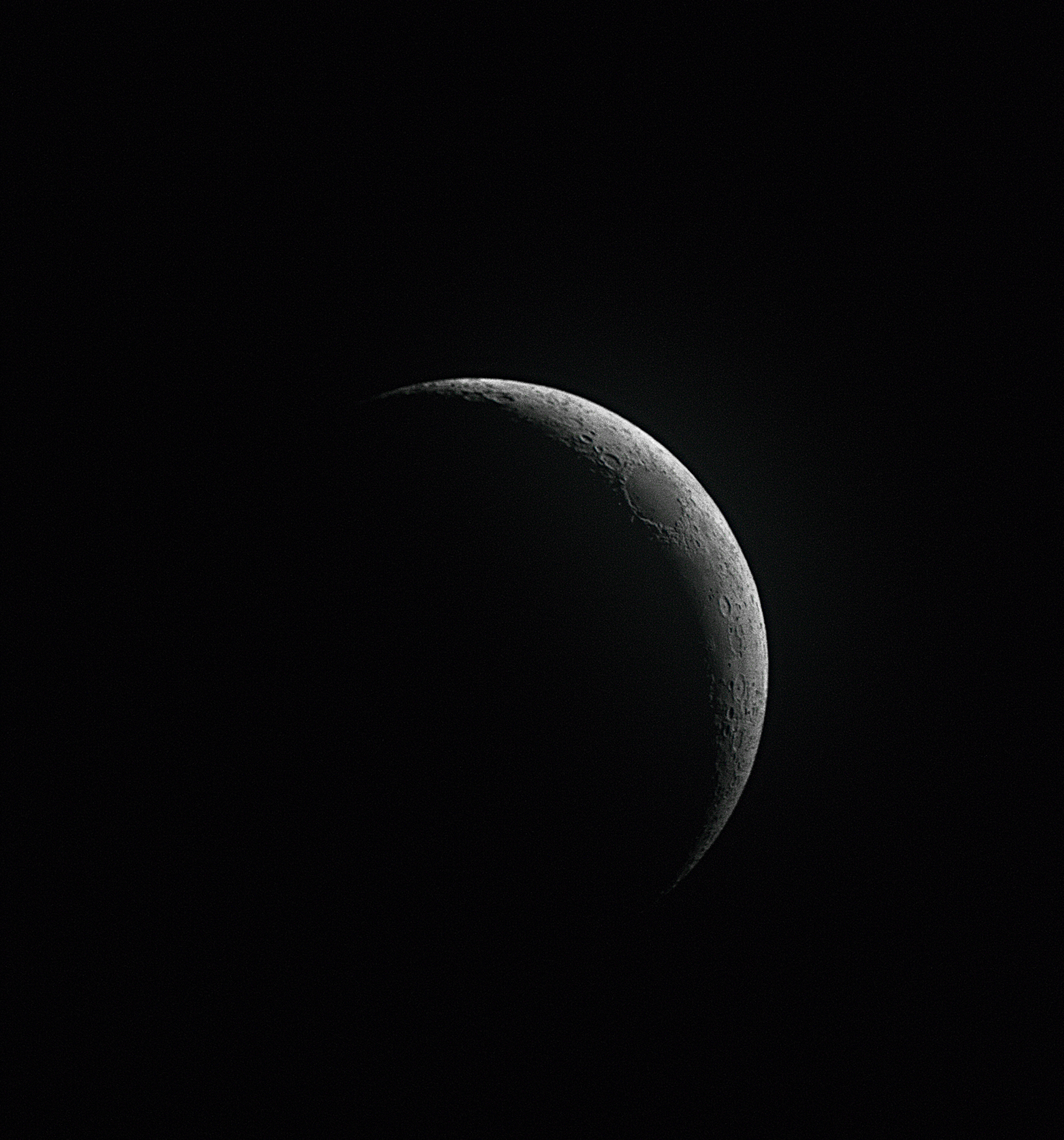 Young Astronomy Photographer: The Waxing Crescent Moon