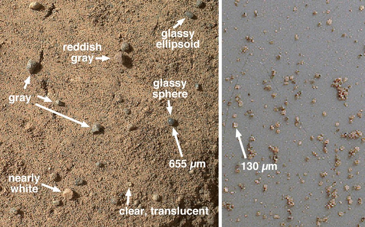 Mars Rock Target Rocknest