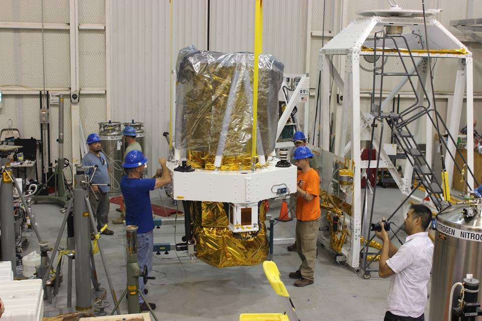 BRRISON Telescope Prepped for Gondola Attachment