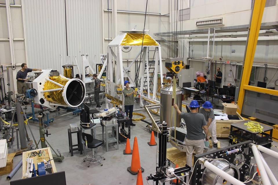 Comet ISON Mission: Balloon Rapid Response Light Instrument Testing, Integration