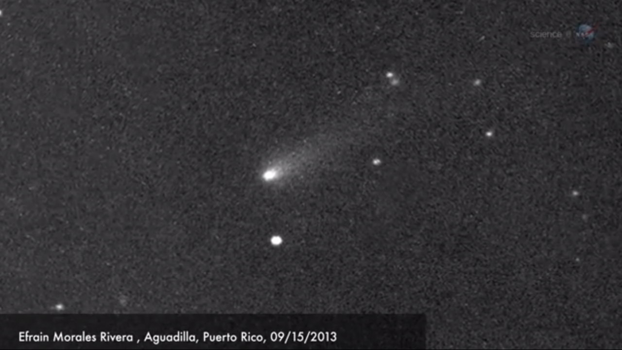 Comet ISON In Sight! Amateur Astronomers Spot Potential ...