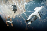 "A scene from Warner Bros. Pictures' science-fiction thriller ""Gravity,"" a Warner Bros. Pictures 2013 release."