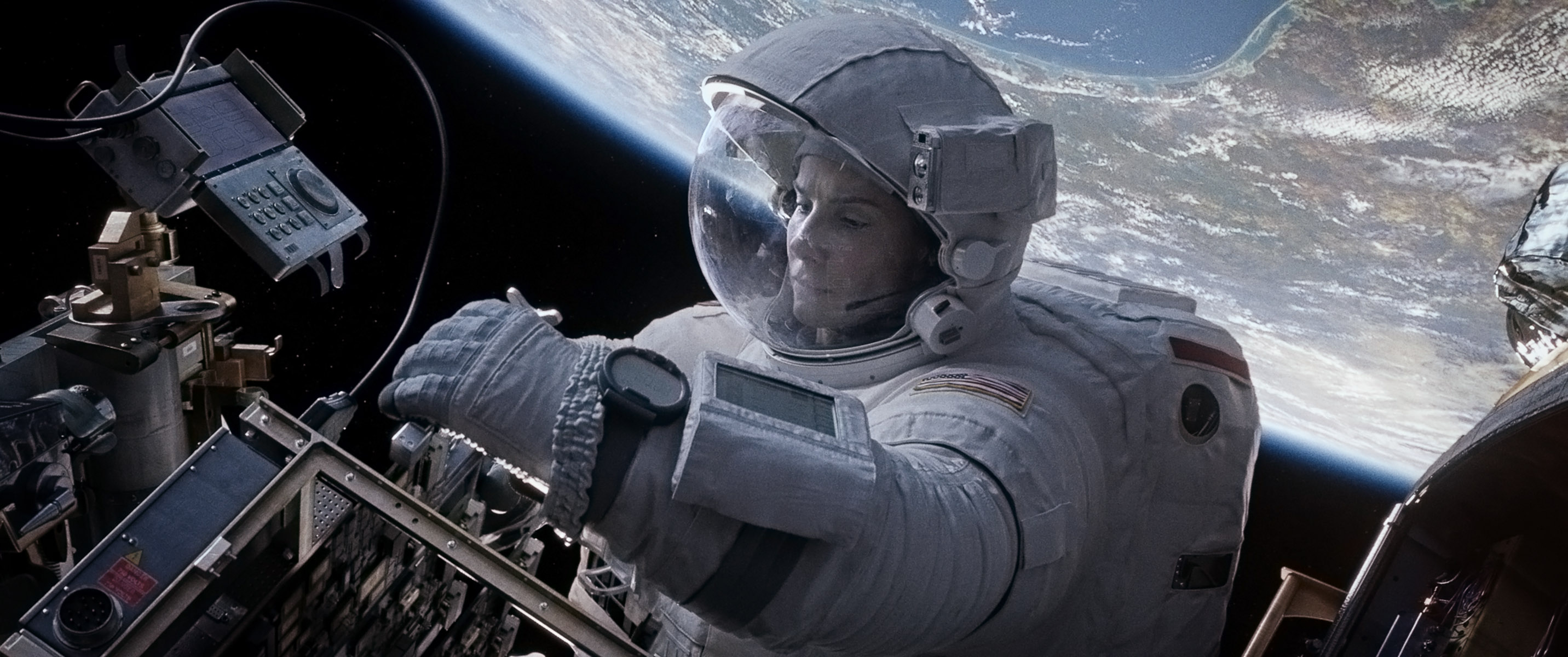 'Gravity' Captures 'Visceral' Nature of Spacewalks, Former Astronaut Says