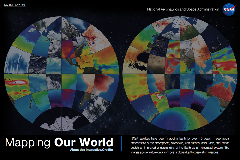 NASA Interactive Reveals New Earth Perspectives (Op-Ed)