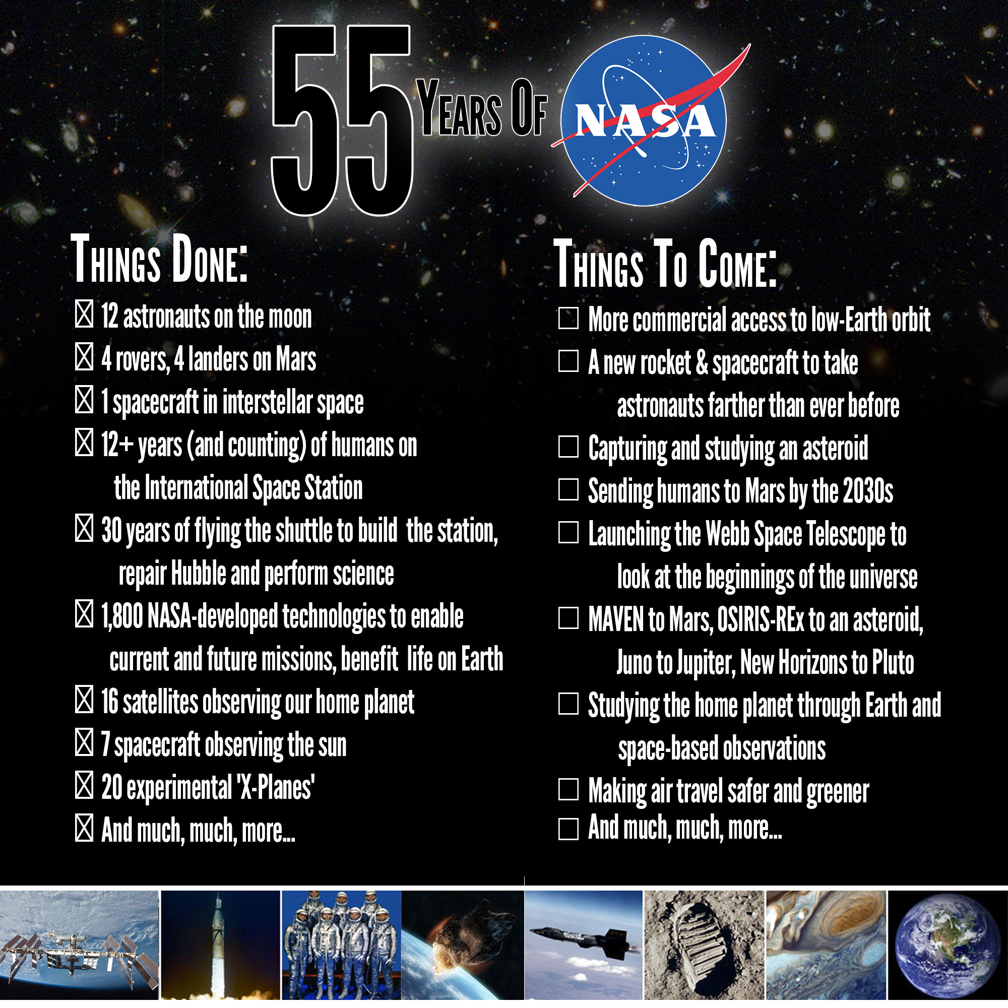 Happy 55th Birthday, NASA! Now Everybody Go Home