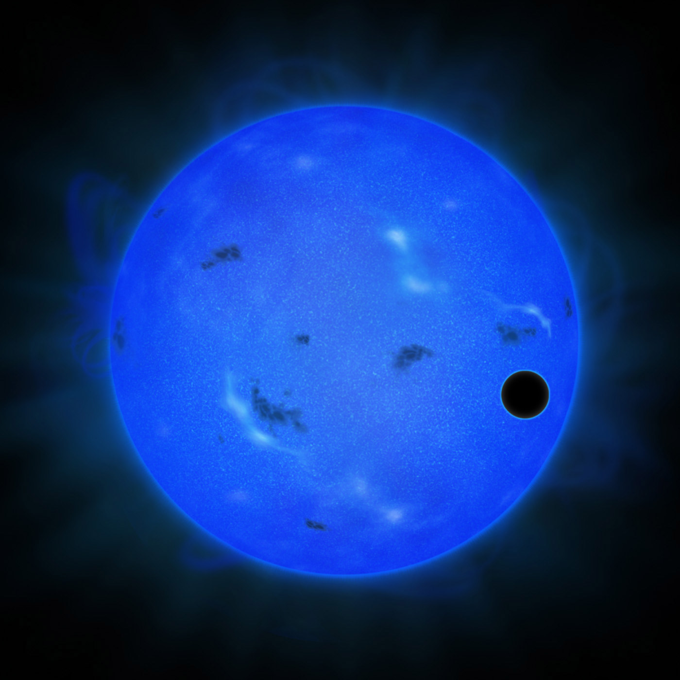 alien water planet - photo #1