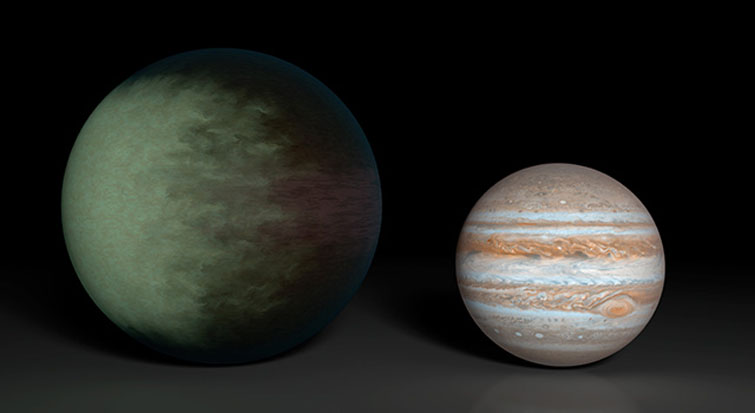 Clouds On Alien Planet Mapped for 1st Time (Image)