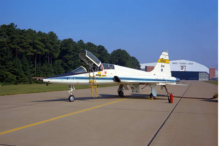 Space History Photo: Northrop T-38A Talon