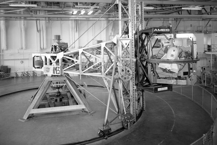 Space History Photo: Ames 5 Degrees-of-Motion Simulator