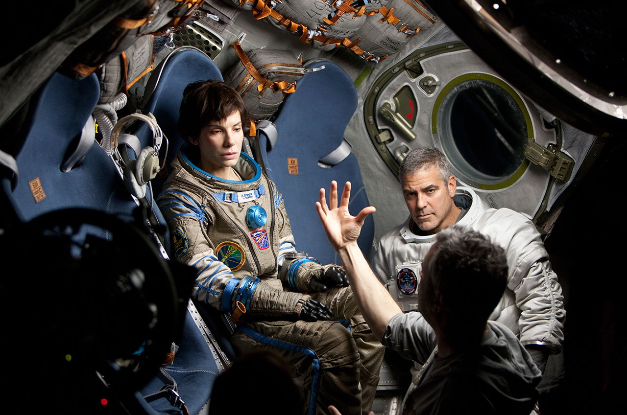 'Gravity' Reality Check: Alfonso Cuarón, Sandra Bullock Talk Fact vs. Fiction (Video)