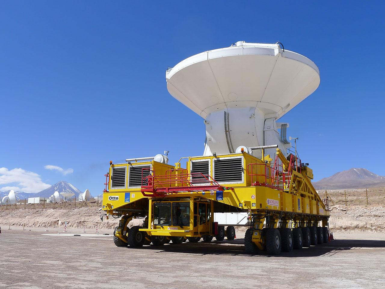 Giant Radio Telescope Reaches Full Power with 66 Antennas