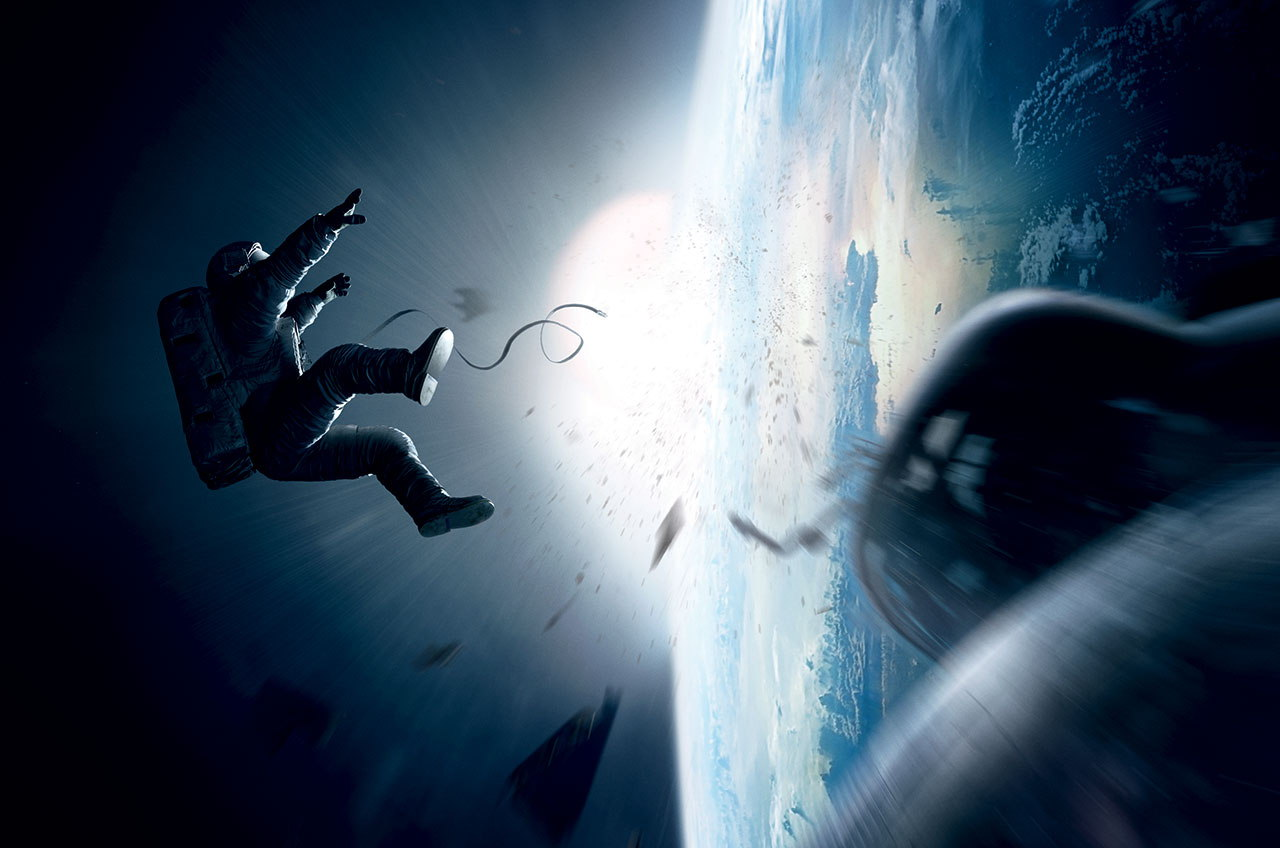 'Gravity,' Starring Sandra Bullock and George Clooney