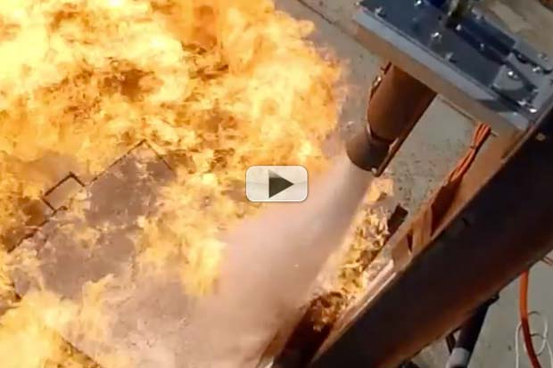 Students Test Fire 3D Printed Rocket Engine | Video