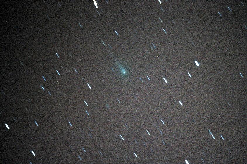 Comet ISON Seen in the Mojave Desert, California