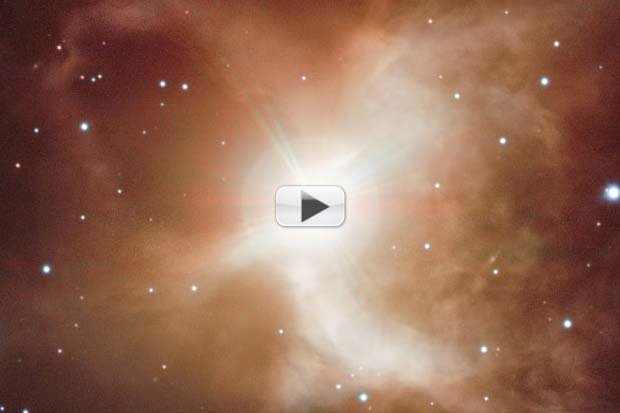 Toby Jug Nebula's 'Cosmic Brew' Stirred By Red Giant Star | Video