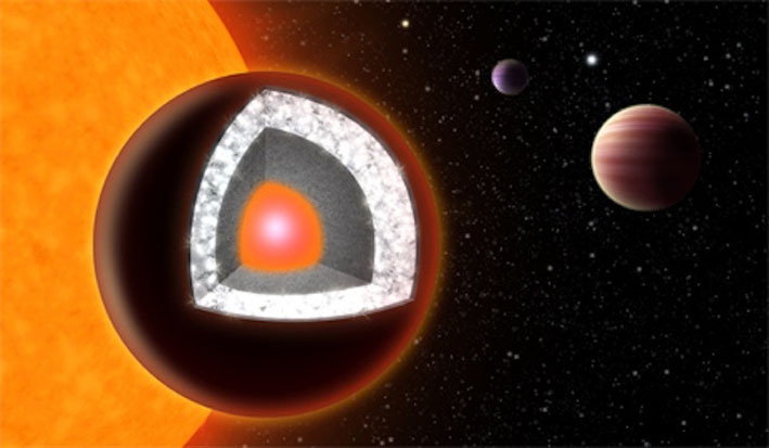 'Diamond' Super-Earth Planet May Not Be So Glam