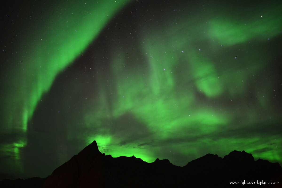 Aurora Over Norway's Lofoten Archipelago #4