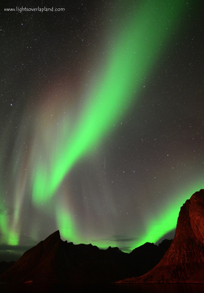Aurora Over Norway's Lofoten Archipelago #2
