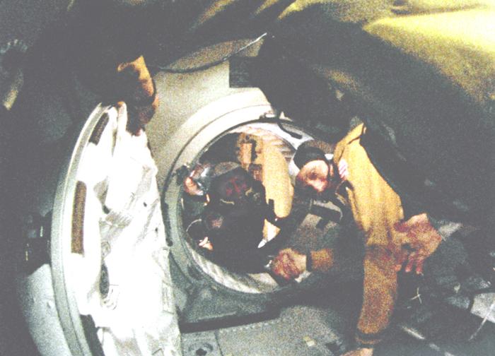 Space History Photo: Historic Handshake