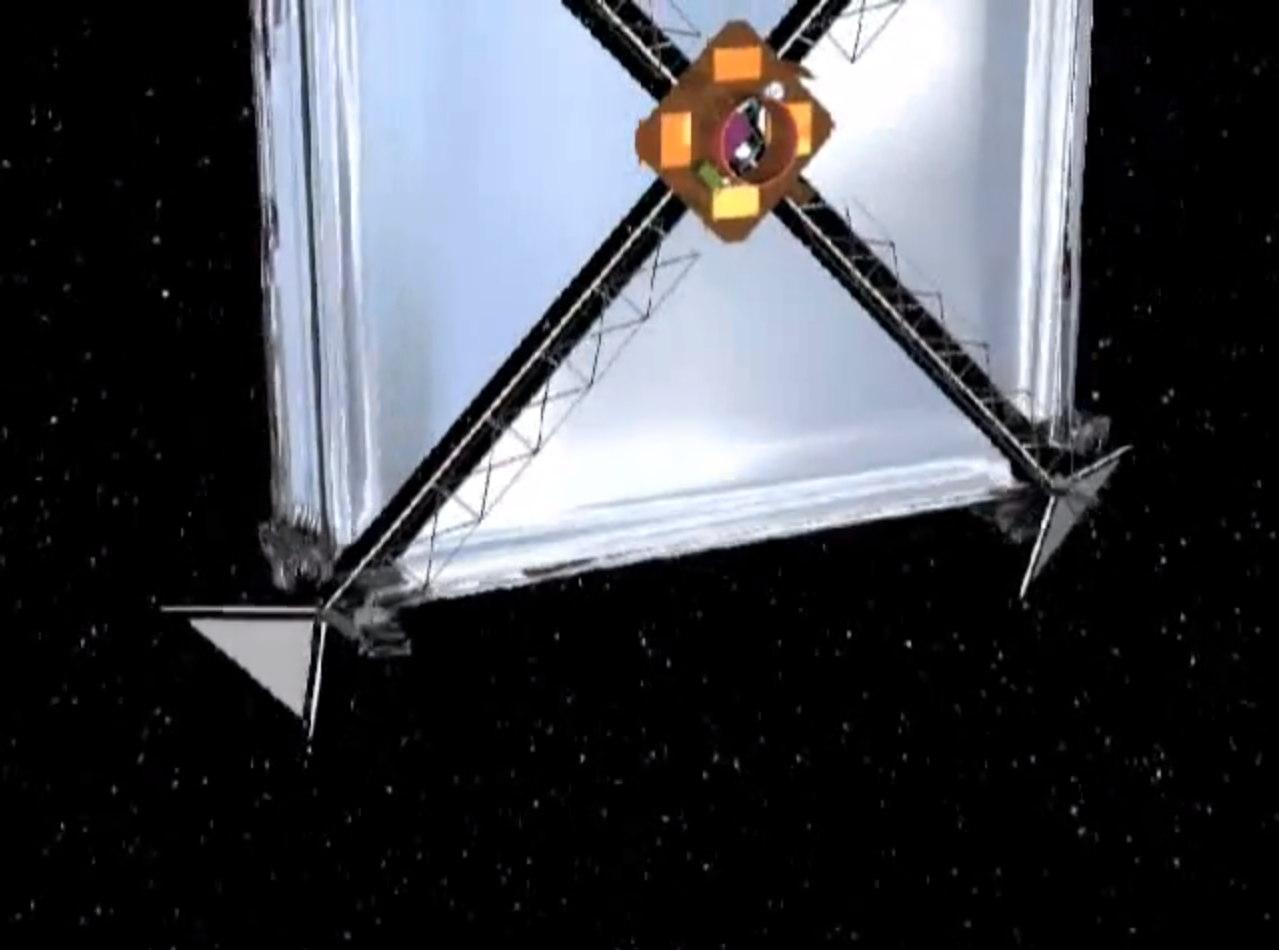 Sunjammer Unfurling Solar Sail