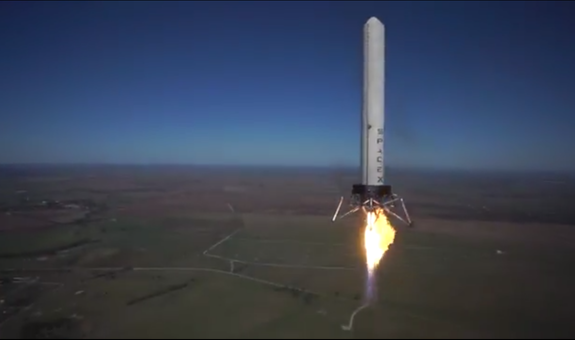 SpaceX's Reusable 'Grasshopper' Rocket Soars in Highest ...