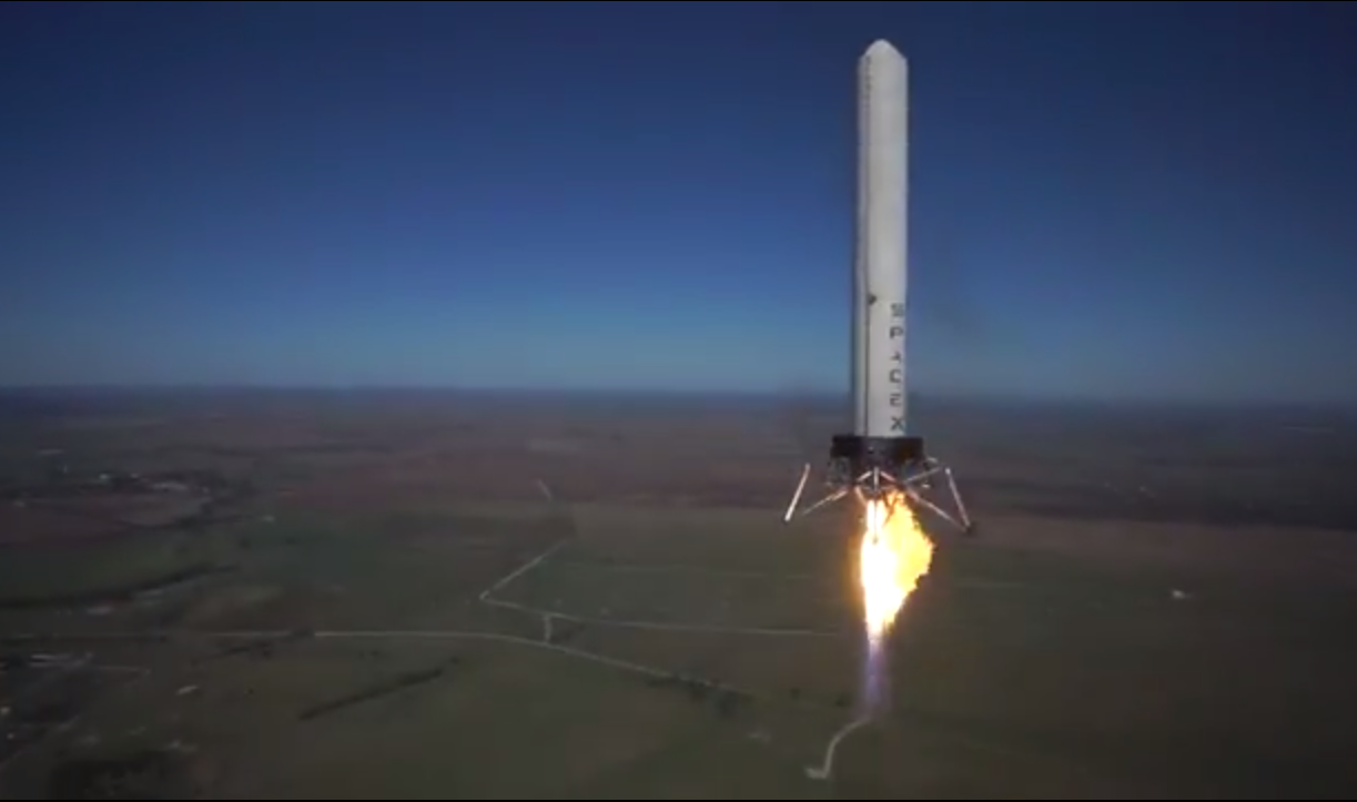 SpaceX's Grasshopper: Reusable Rocket Prototype