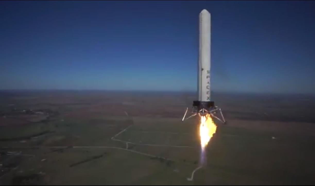 spacex reusable rocket splash down - photo #5