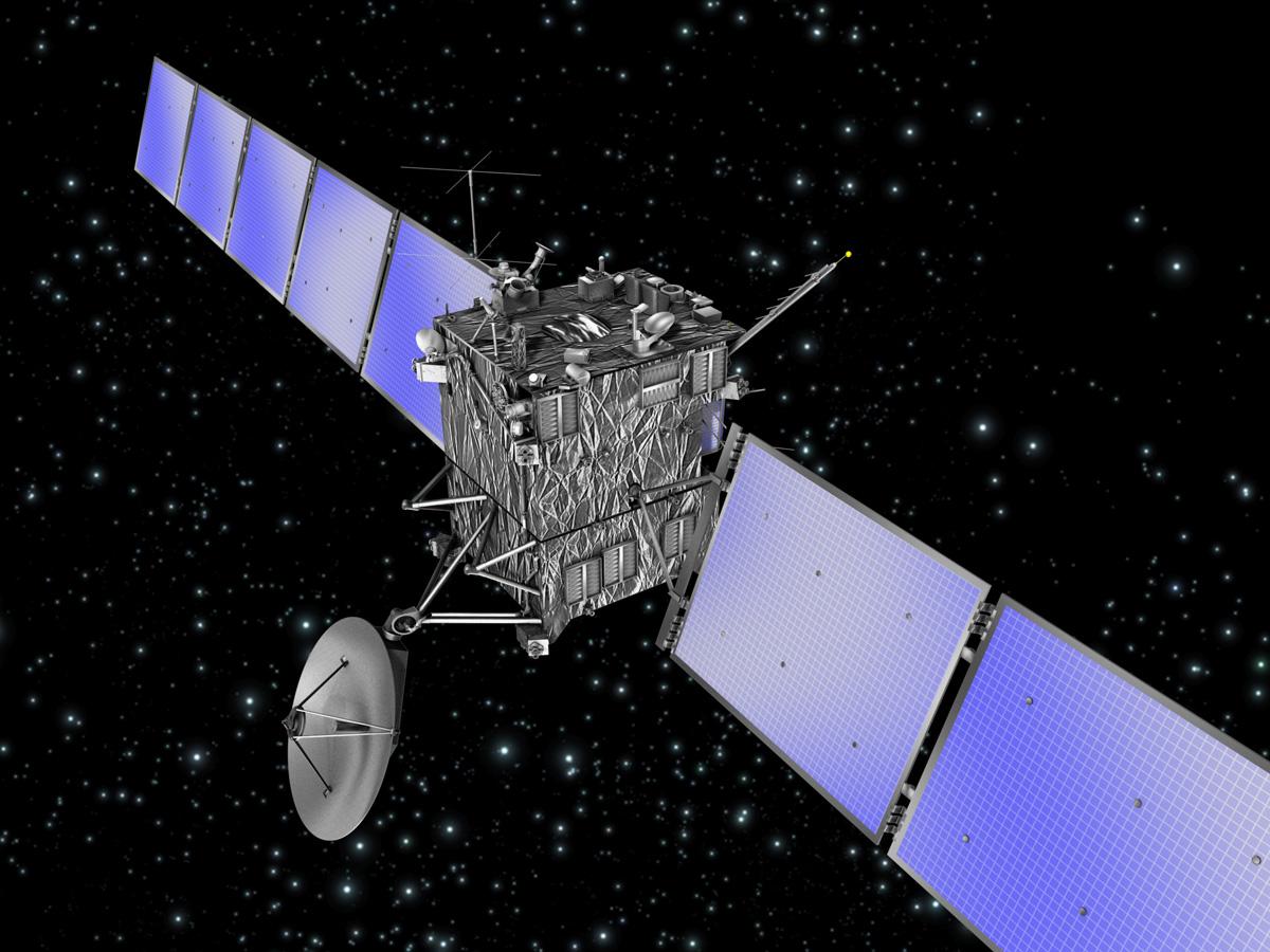 Rosetta Comet Spacecraft