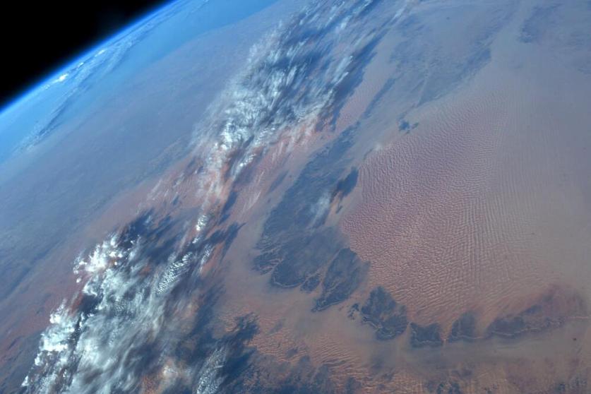 Karen Nyberg: Libya and Mediterranean Coast