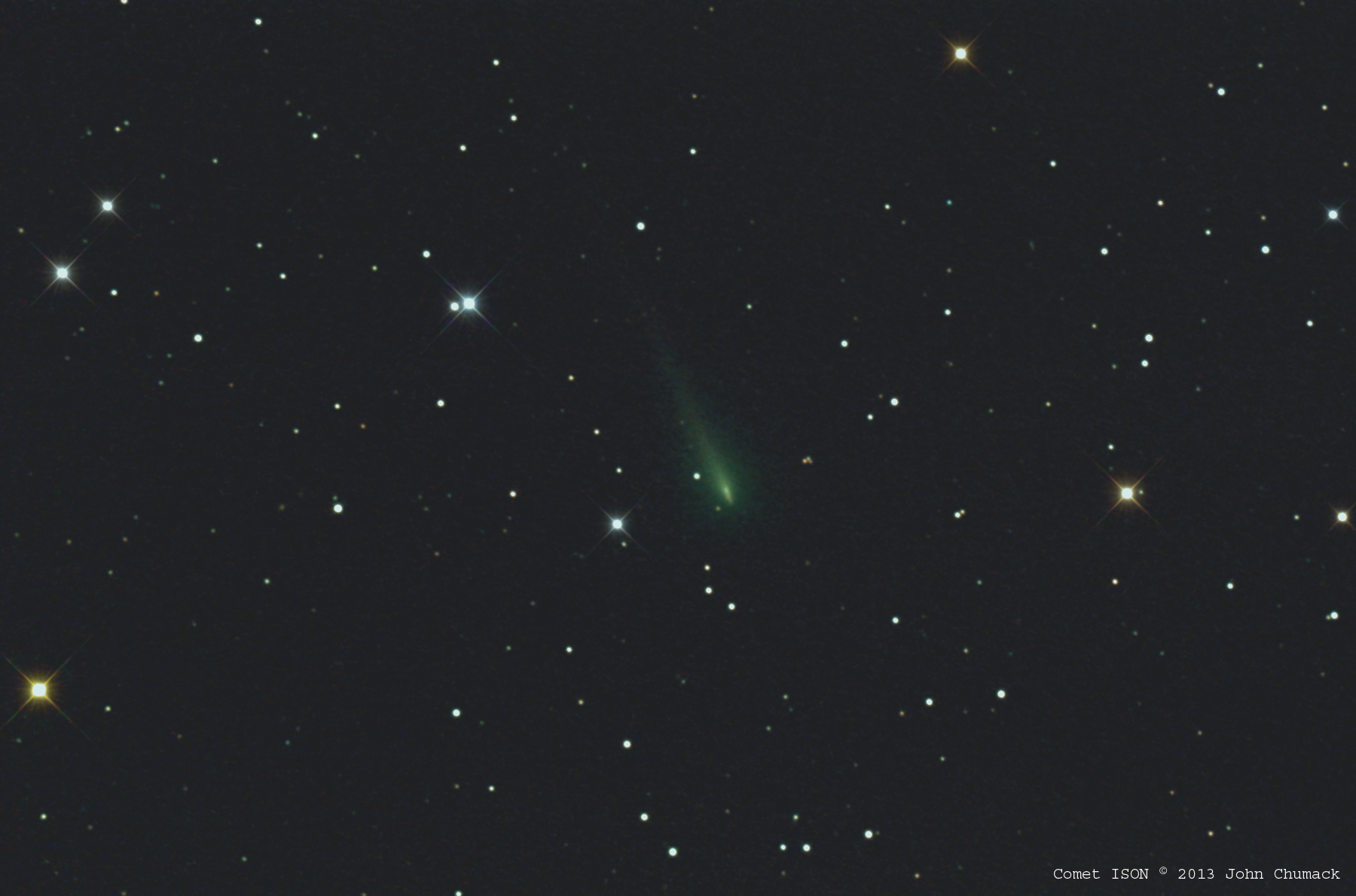 Comet ISON Viewed From John Bryan State Park