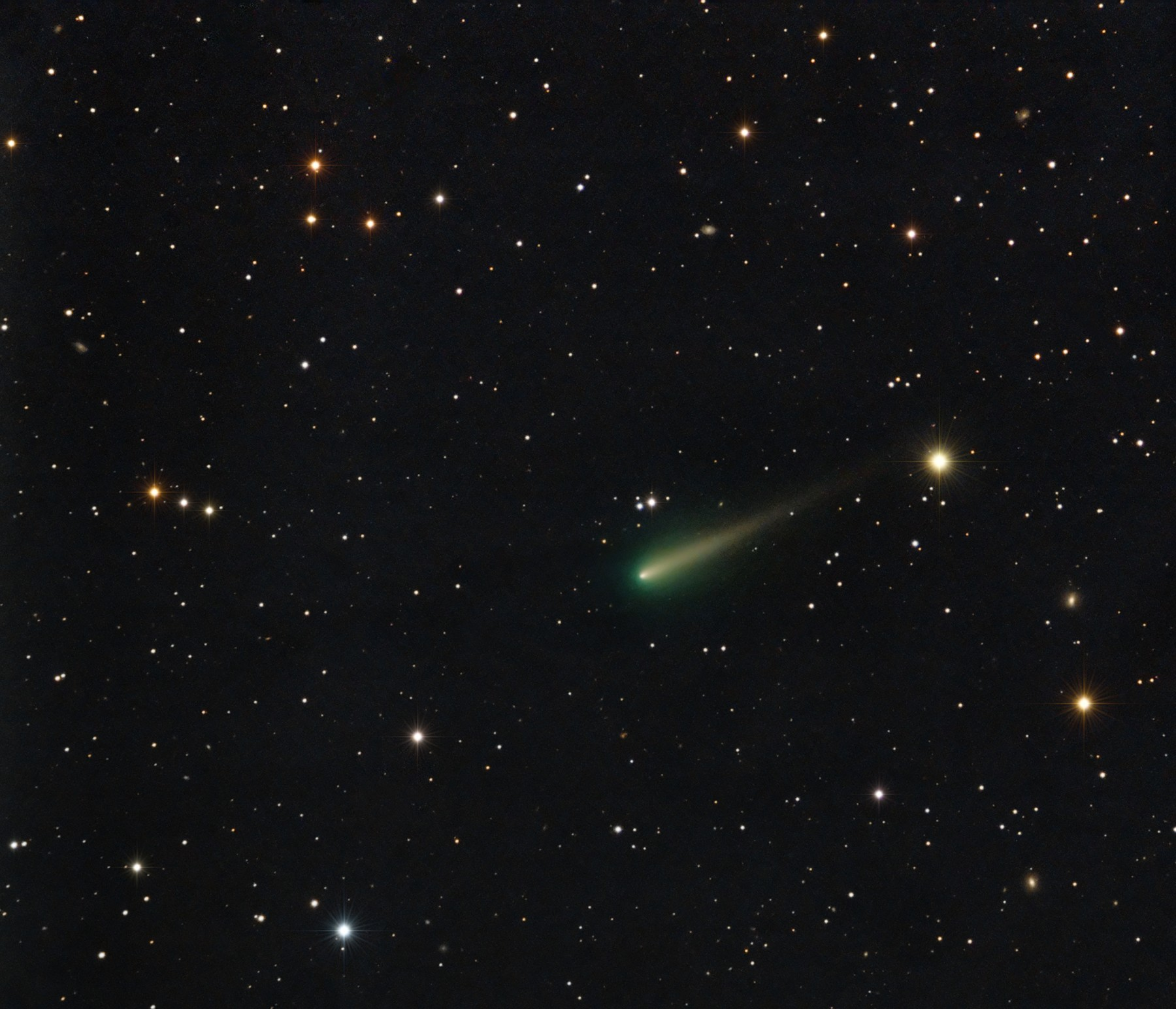 Comet ISON on Oct. 11