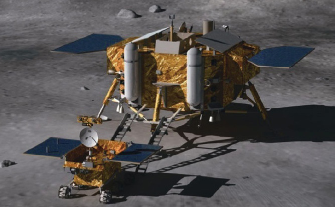 China's Chang'e 3 Moon Rover
