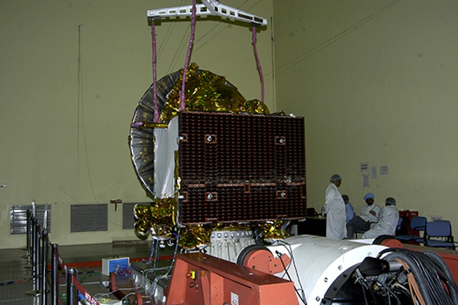 Mars Orbiter Mission Spacecraft Vibration Test Prep