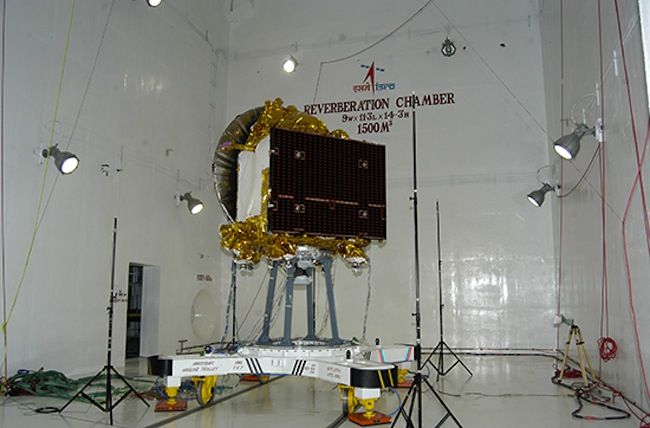 Mars Orbiter Mission Spacecraft Acoustic Test