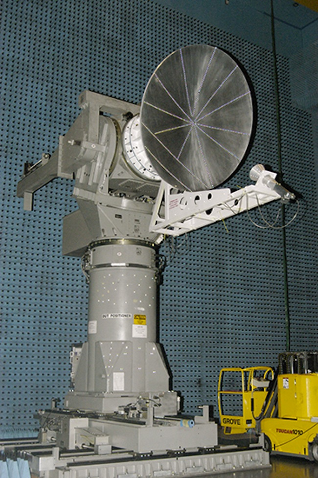 Mars Orbiter Mission Spacecraft Antenna Testing