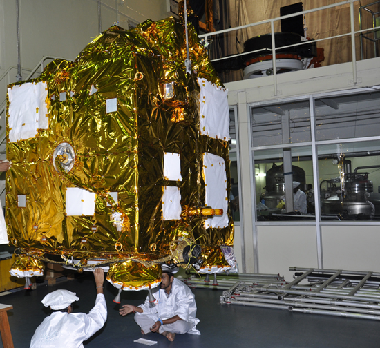 Mars Orbiter Mission Spacecraft Undergoes Testing